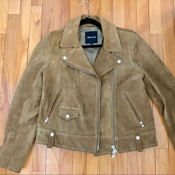 Madewell Jackets & Blazers - Madewell Suede Moto Jacket